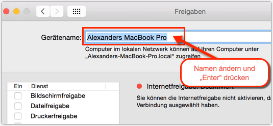 Mac-MacBook-Geraete-Namen-Aendern