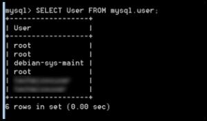 mysql-benutzer-anzeigen