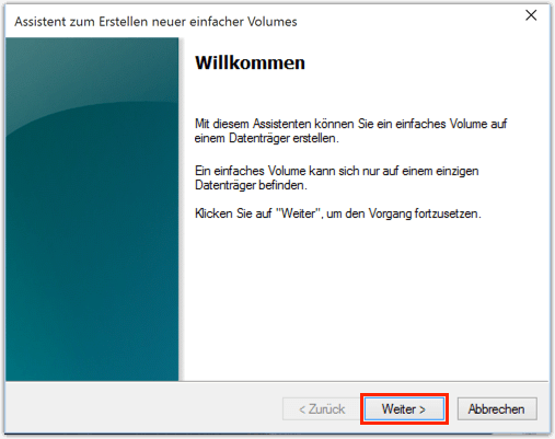 partitionen erstellen windows 10