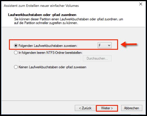 Laufwerksbuchstaben-fuer-das-Volume-waehlen