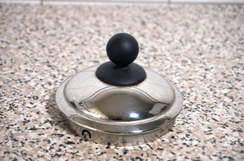 Ottoni Fabbrica Wasserkocher der metallische Deckel