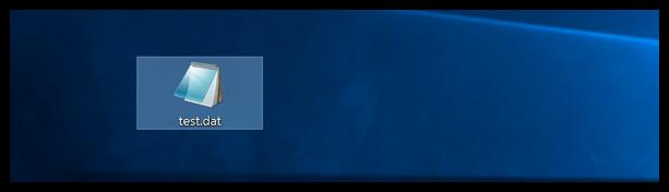 Windows 10 Datei wurde umbenannt