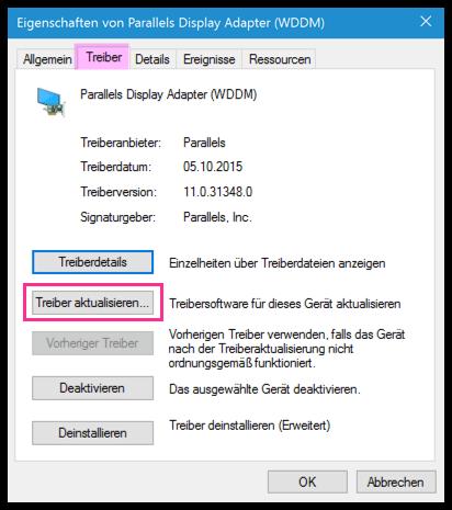 Windows 10 Treiber aktualisieren