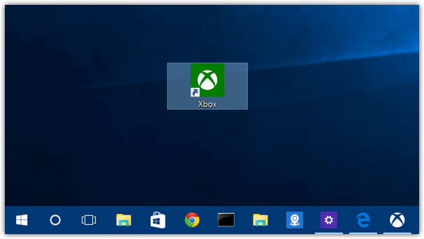 Windows 10 Xbox Shortcut Desktop