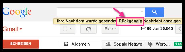 Gmail Diese E-Mail kann zurueckgeholt werden