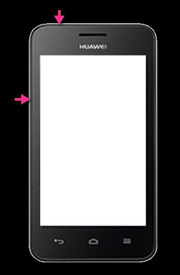 Huawei Ascend Y330 Screenshot Tasten