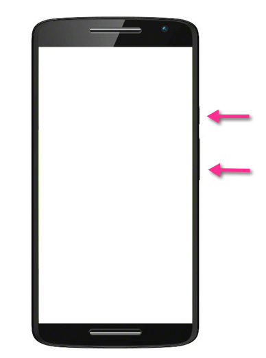 Motorola Moto X Play Screenshot Tasten