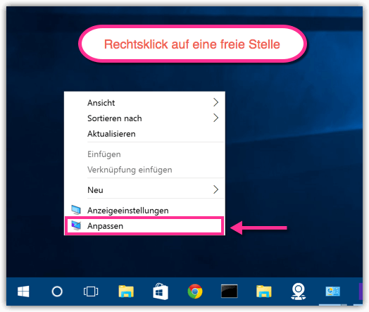 Windows 10 Anpassen
