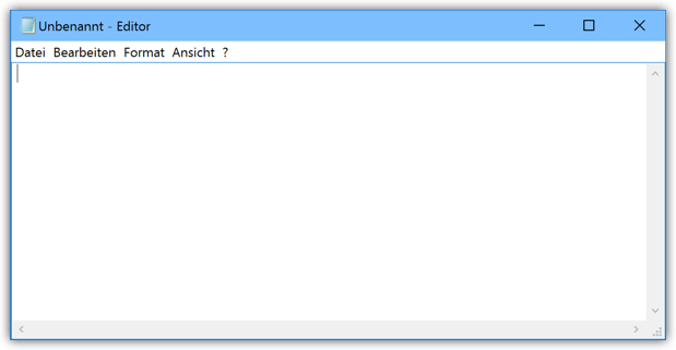Windows 10 Editor