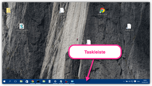 Windows 10 Taskleiste