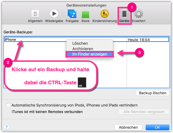 Mac iTunes iPhone Backup Location