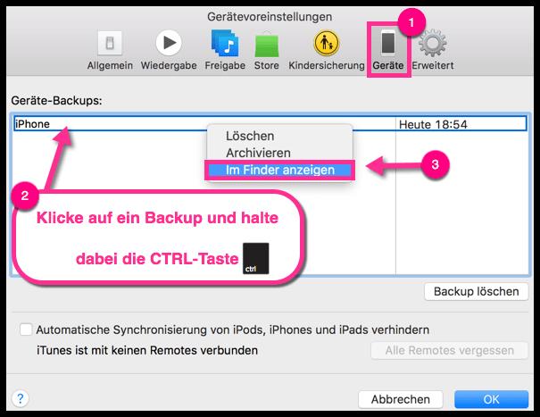 Mac iTunes iPhone Backup Location