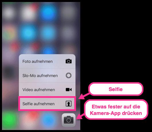 iPhone 6s Selfie Trick