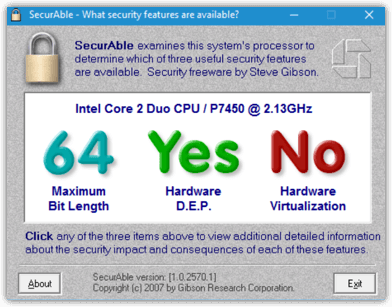 SecurAble Hyper-V Test