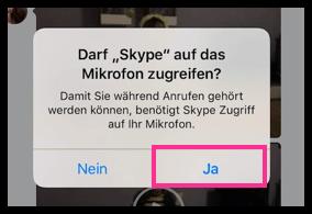 iPhone App fragt nach Miktofon-Erlaubnis