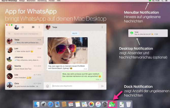 App for WhatsApp