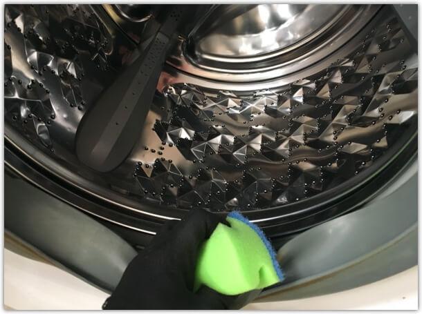 Gummidichtungen Reinigen mit Chlor in der Waschmaschine