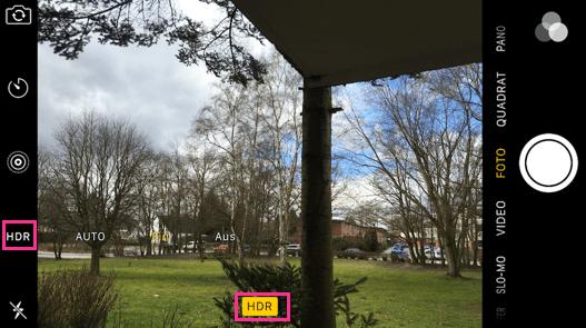 HDR Foto machen mit dem iPhone