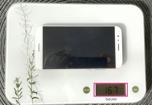 Huawei G8 GX8 Gewicht