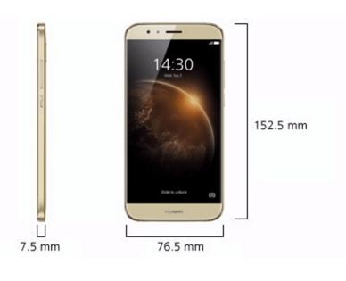 Huawei GX8 Abmessungen