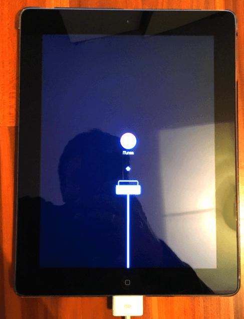 iPad im Recovery Mode