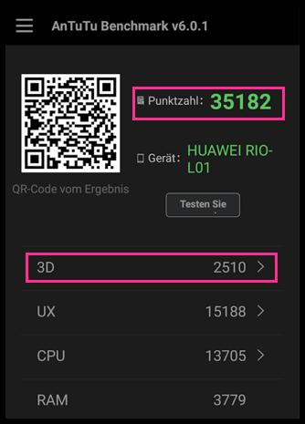 Antutu Huawei G8 GX8