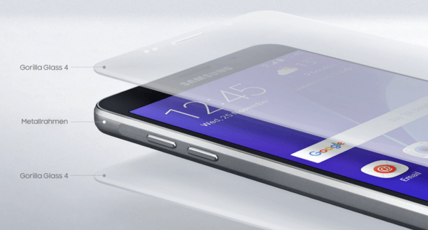 Galaxy A5 2016 Gorilla Glas vorne und Hinten