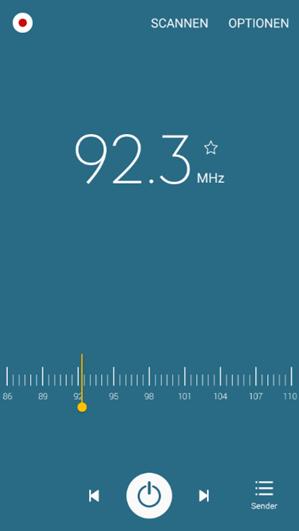 Samsung Galaxy A5 2016 Radio
