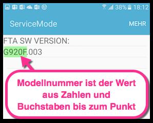 Samsung Galaxy Servicemode