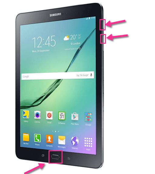 Samsung Galaxy Tab S2 Hard Reset Zuruecksetzen auf Werkseinstellungen