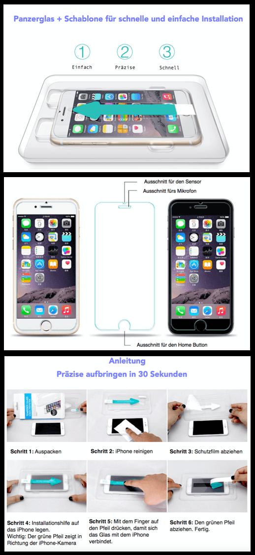 iPhone Schablone