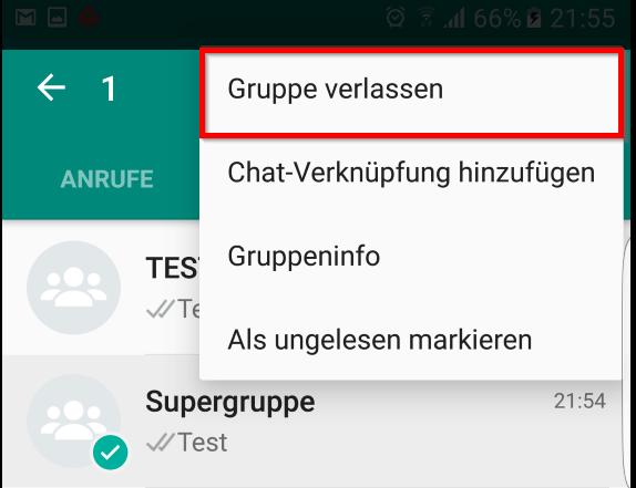 Gruppe Bei Whatsapp