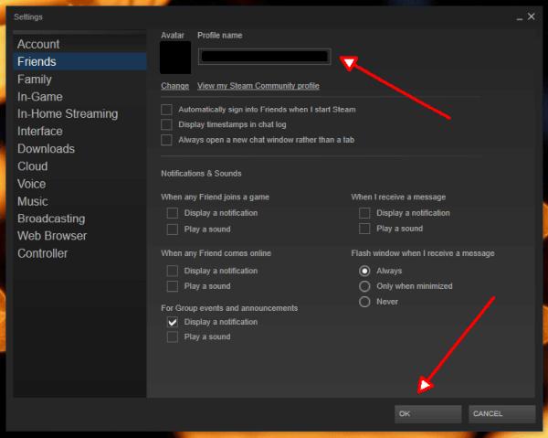 Steam: Eigenen Profilnamen ändern - TechMixx