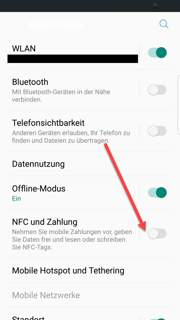 NFC IPHONE 7 AKTIVIEREN