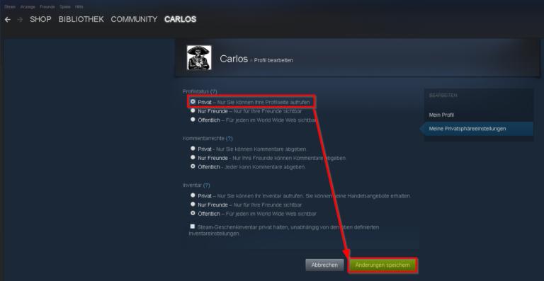 Steam Profil Suchen