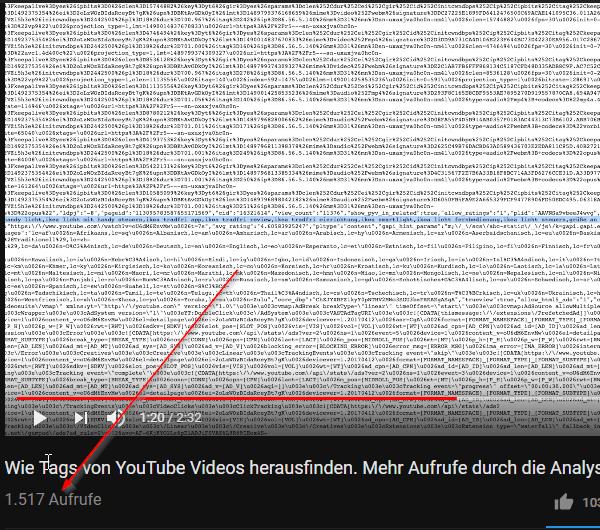 Tags Von YouTube Videos Herausfinden