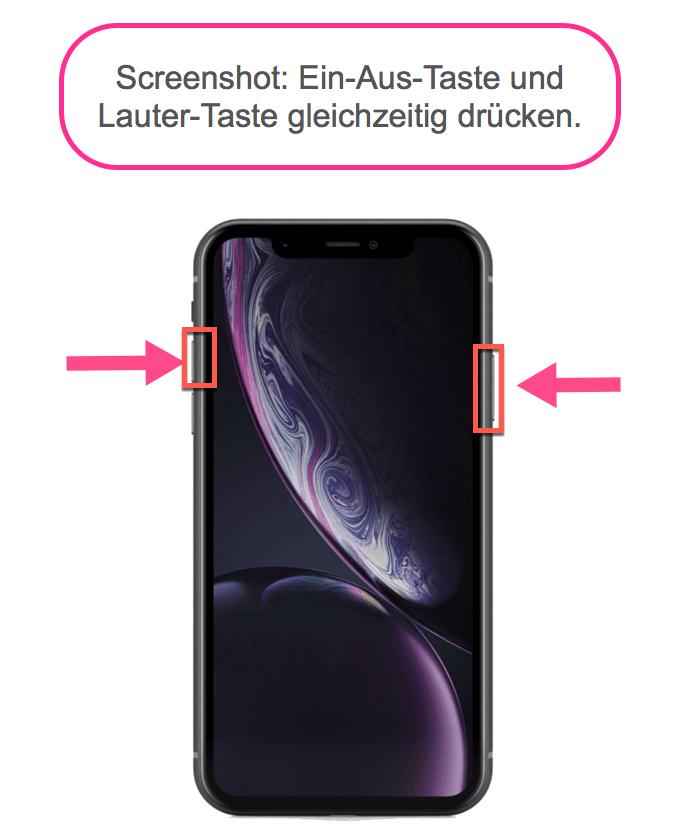 Wie Macht Man Beim Iphone Screenshot