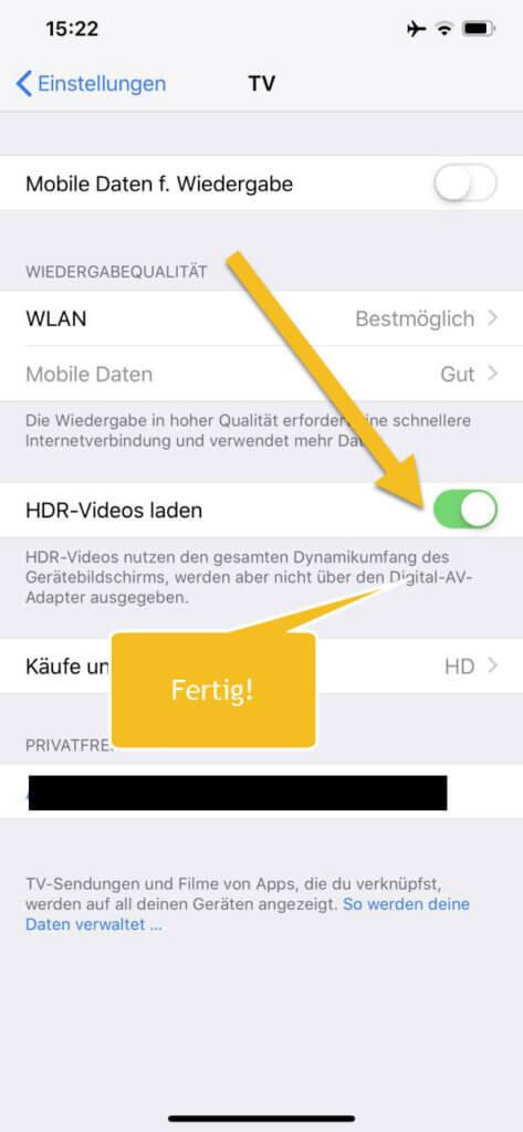 iphone hdr videos laden techmixx. Black Bedroom Furniture Sets. Home Design Ideas
